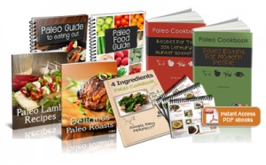 paleo book set